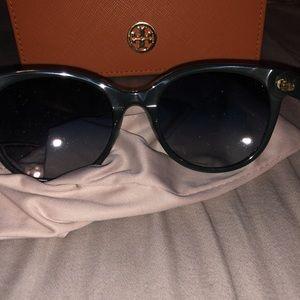 Tory Burch Blue / Green Sunglasses